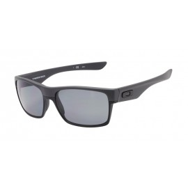 oakley sunglasses outlet coupons  oakley men's twoface black frame gray lens rectangular 60mm polarized sunglasses